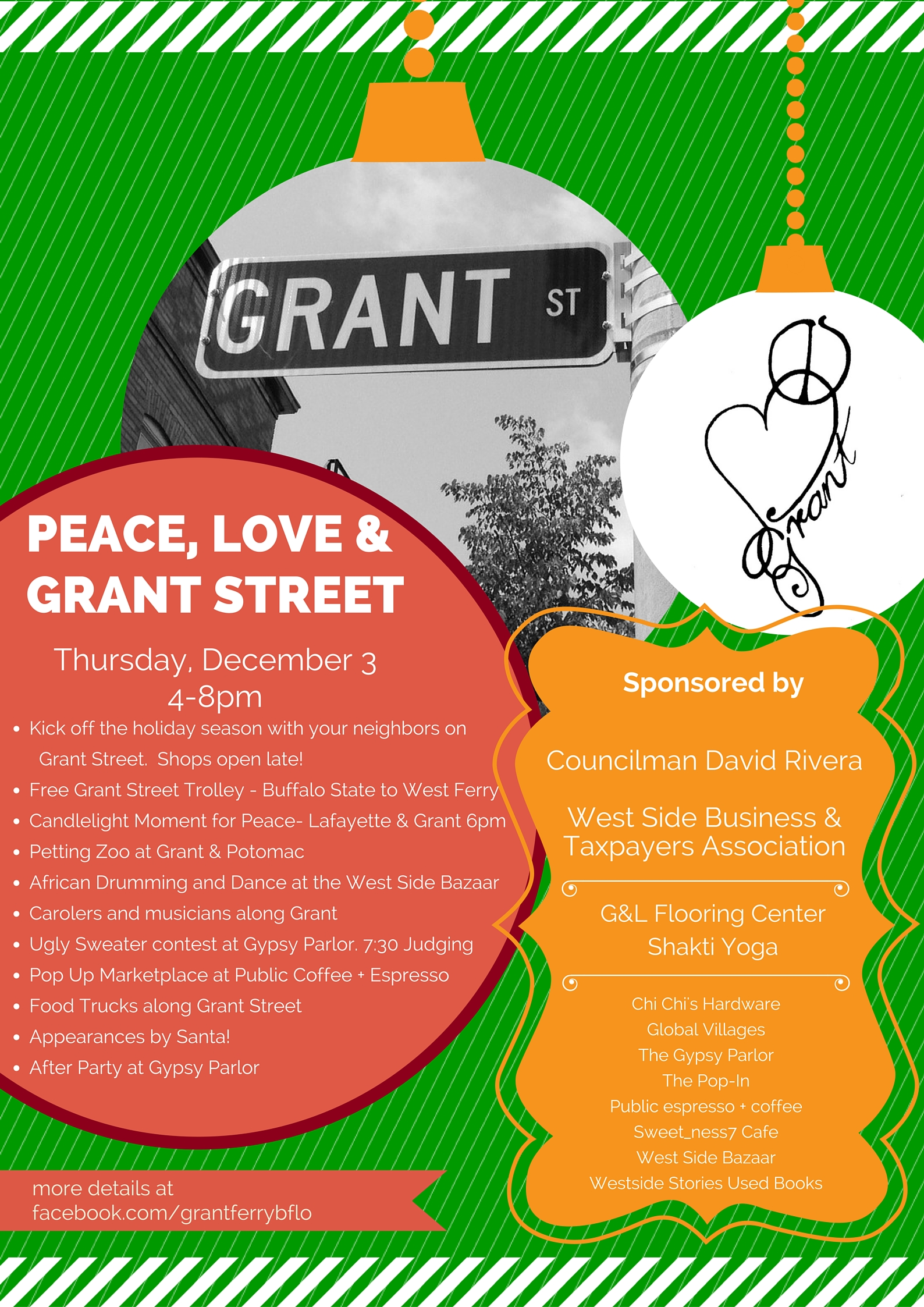 Peace, Love & Grant poster